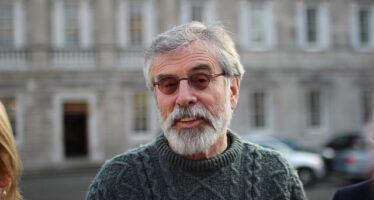 Gerry Adams: See you later Alligator