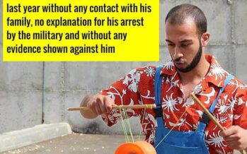 Palestinian clown to stay in Israeli prison without trial