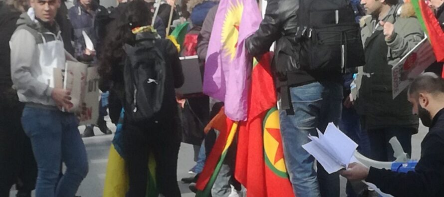 DUBLIN –DAY OF PROTEST FOR AFRIN