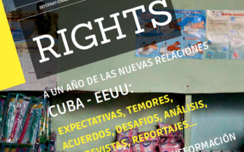 New issue of Global Rights dedicated to the new relation between Cuba and the US out tomorrow