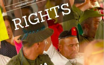 Global Rights Magazine. THE CHALLENGES OF PEACE IN COLOMBIA