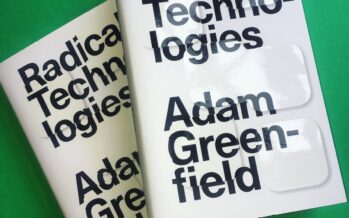 BOOK.'The Design of Everyday Life'by Adam Greenfield