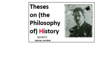 Theses on (the Philosophy of) History (poem) – downloadable E-Book
