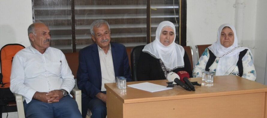 Families of Er and Dağ appeal to international community