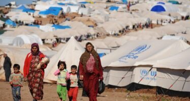 Turkish government sent Syrian refugees to Afrin